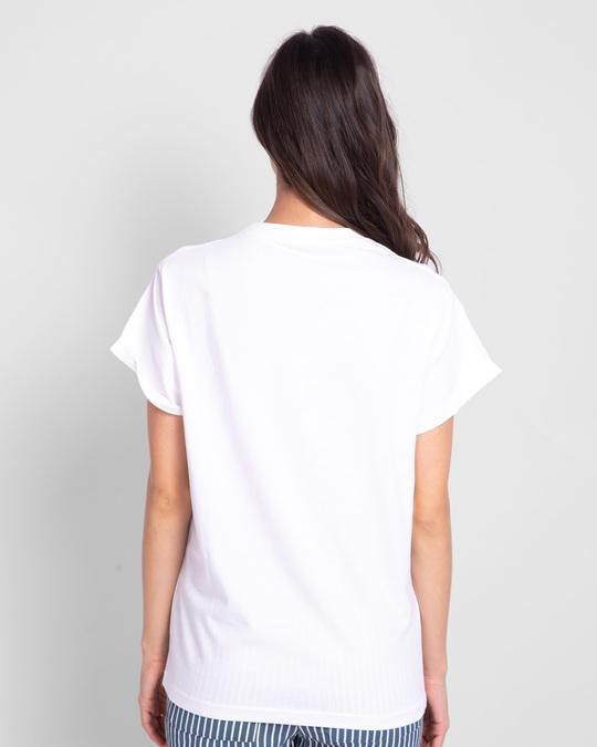 Shop Salt Typo Boyfriend T-Shirt-Back