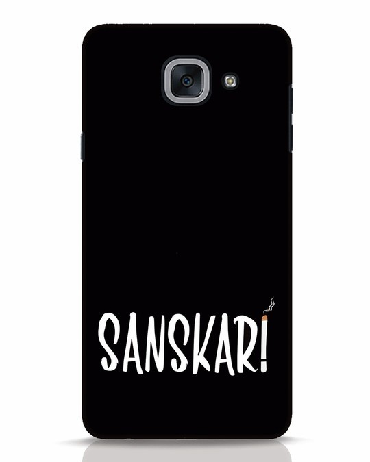 Shop Sanskari Samsung Galaxy J7 Max Mobile Cover-Front