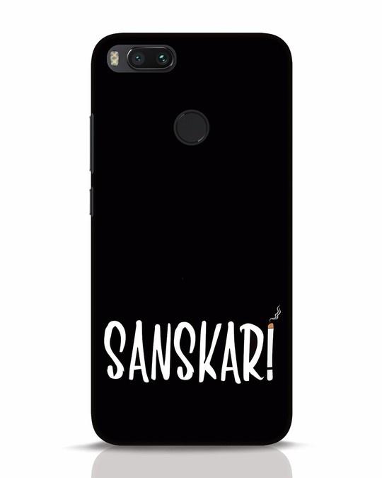 Shop Sanskari Xiaomi Mi A1 Mobile Cover-Front