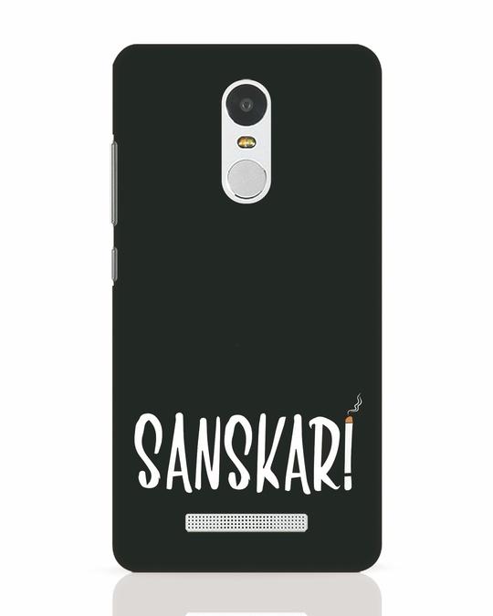 Shop Sanskari Xiaomi Redmi Note 3 Mobile Cover-Front