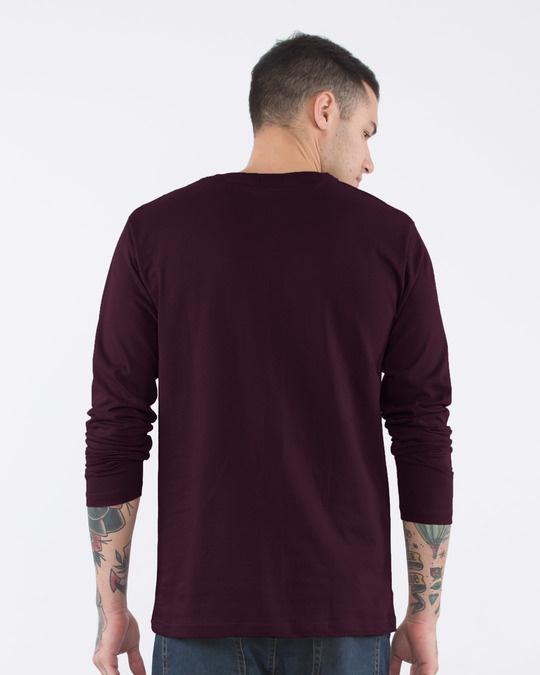 Shop Sarcastic Fluency Full Sleeve T-Shirt-Back