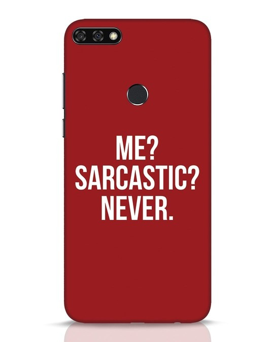 Shop Sarcastic Huawei Honor 7C Mobile Cover-Front