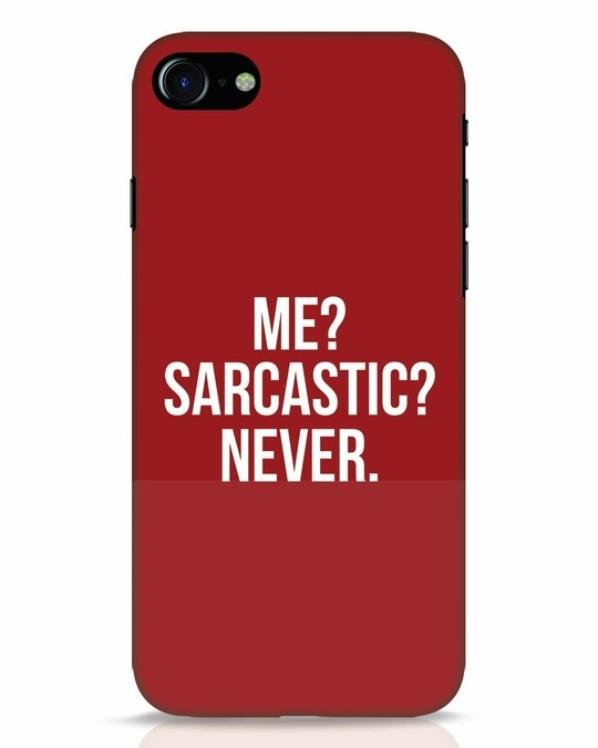 Shop Sarcastic iPhone 8 Mobile Cover-Front
