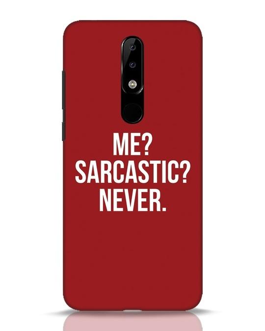 Shop Sarcastic Nokia 5.1 Plus Mobile Cover-Front
