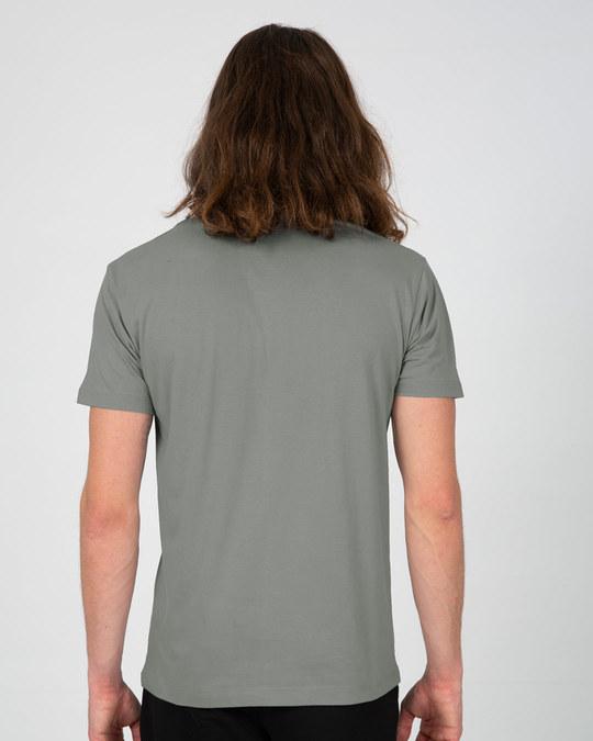 Shop Sarcastic Penguin Half Sleeve T-Shirt-Back