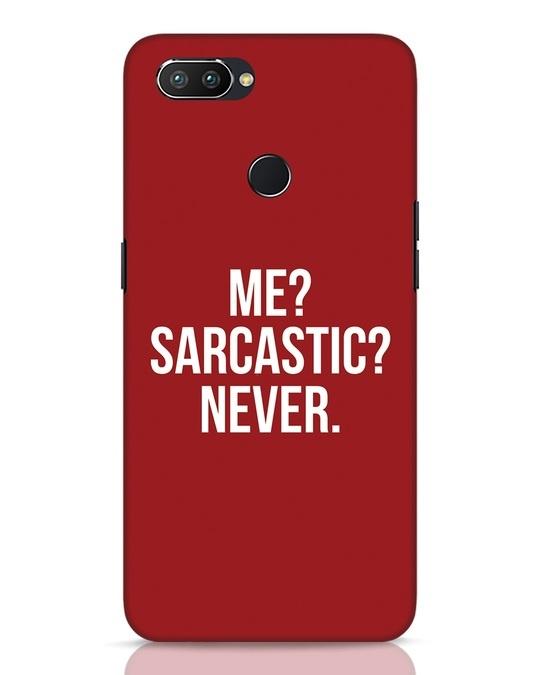 Shop Sarcastic Realme 2 Pro Mobile Cover-Front