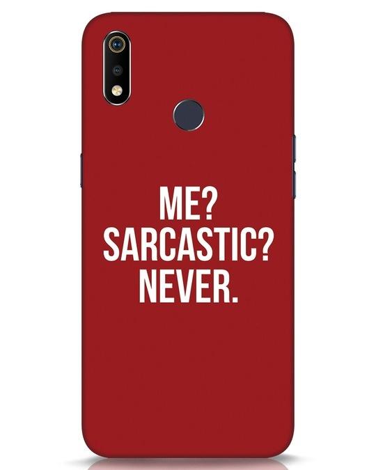 Shop Sarcastic Realme 3i Mobile Cover-Front