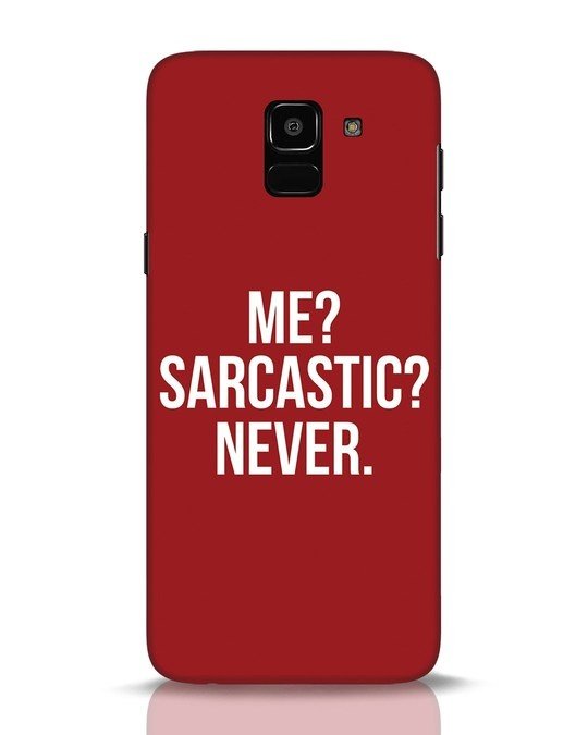 Shop Sarcastic Samsung Galaxy J6 Mobile Cover-Front