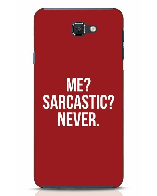 Shop Sarcastic Samsung Galaxy J7 Prime Mobile Cover-Front