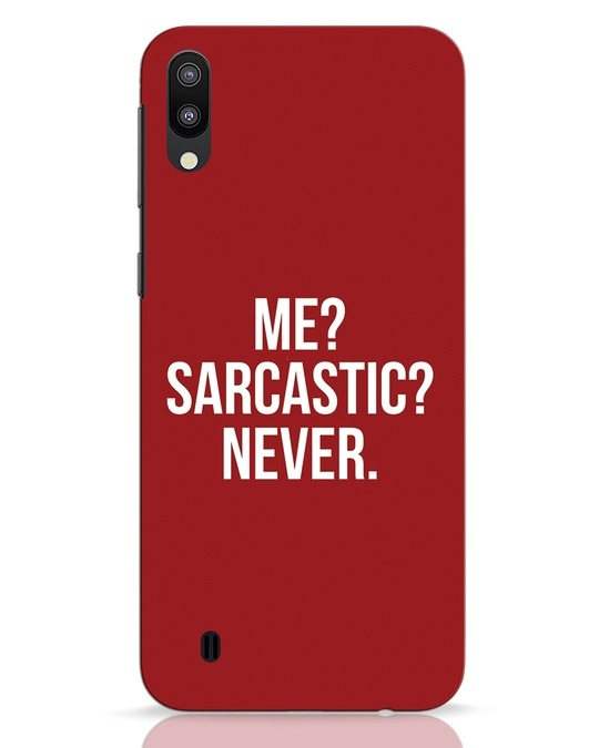 Shop Sarcastic Samsung Galaxy M10 Mobile Cover-Front