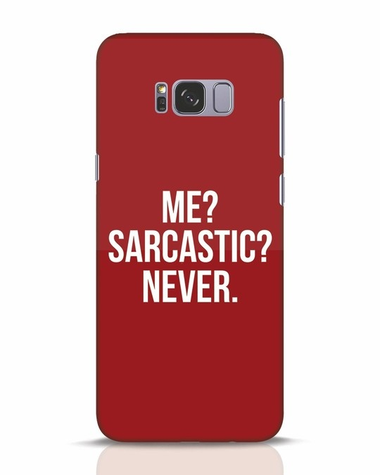 Shop Sarcastic Samsung Galaxy S8 Plus Mobile Cover-Front