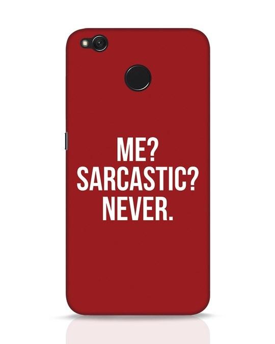 Shop Sarcastic Xiaomi Redmi 4 Mobile Cover-Front