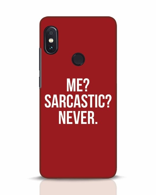 Shop Sarcastic Xiaomi Redmi Note 5 Pro Mobile Cover-Front