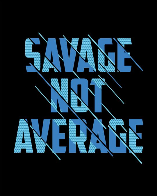 Shop Savage Not Average Full Sleeve T-Shirt-Full