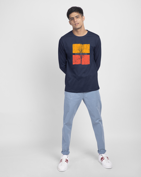 Shop Save Our Home Full Sleeve T-Shirt-Full