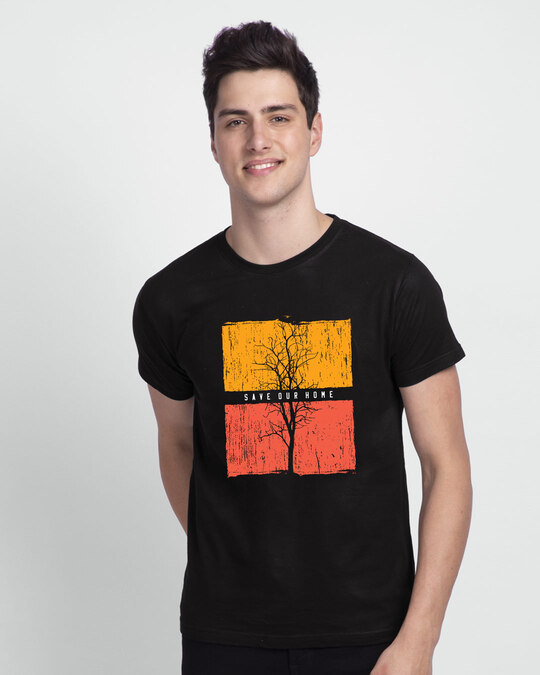 Shop Save Our Home Half Sleeve T-Shirt-Back