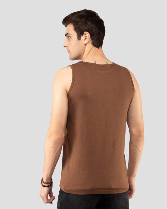 Shop Save Our Home Vest Brown-Back