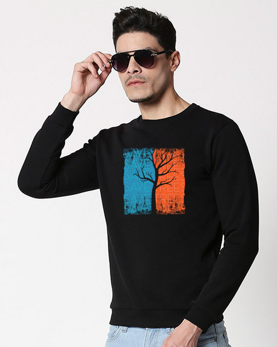 Shop Save Trees Fleece Sweater-Front