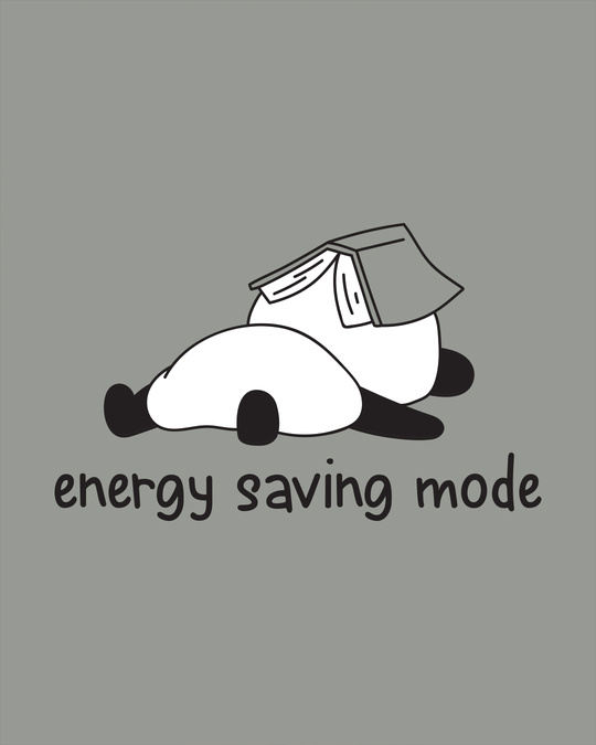 Shop Saving Energy Boyfriend T-Shirt