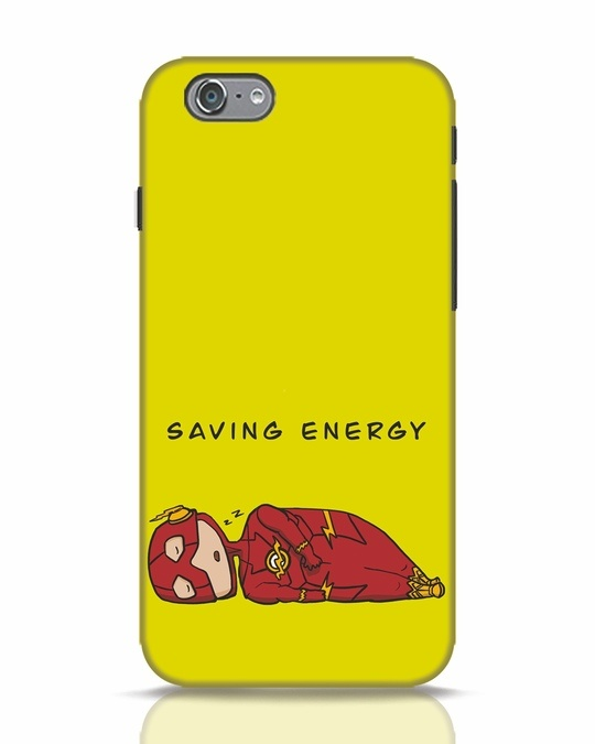 Shop Saving Energy iPhone 6 Mobile Cover-Front