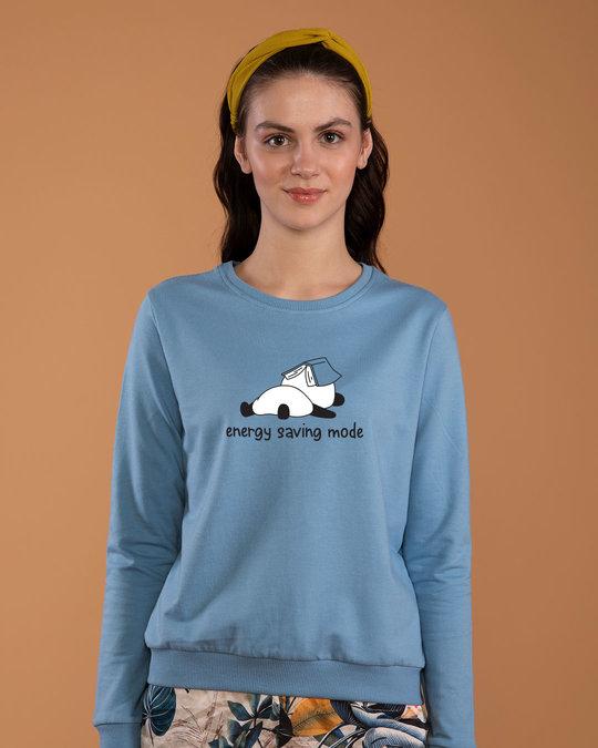 Shop Saving Energy Sweatshirt-Front