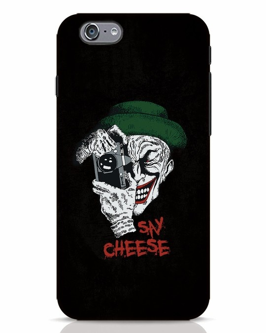 Shop Say Cheese iPhone 6s Mobile Cover-Front