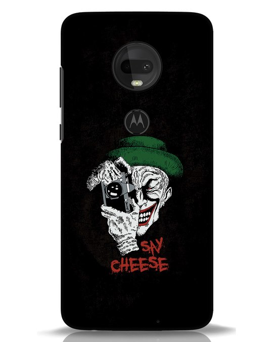 Shop Say Cheese Moto G7 Mobile Cover-Front