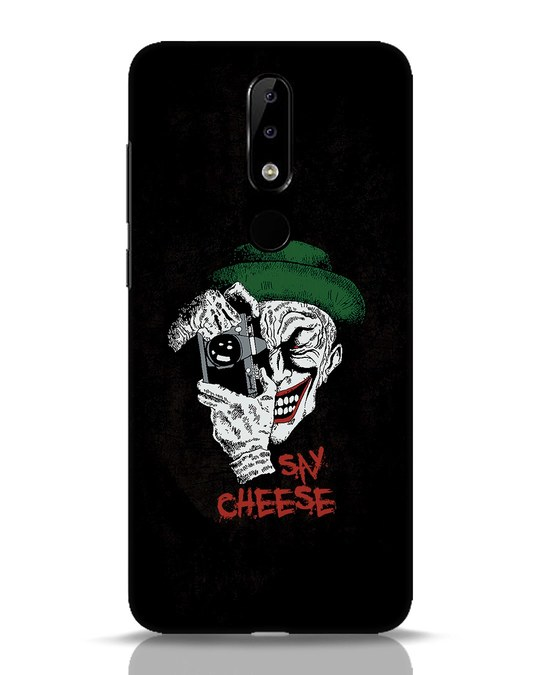 Shop Say Cheese Nokia 5.1 Plus Mobile Cover-Front