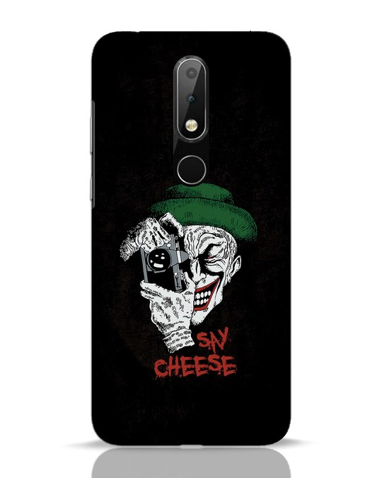 Shop Say Cheese Nokia 6.1 Plus Mobile Cover-Front