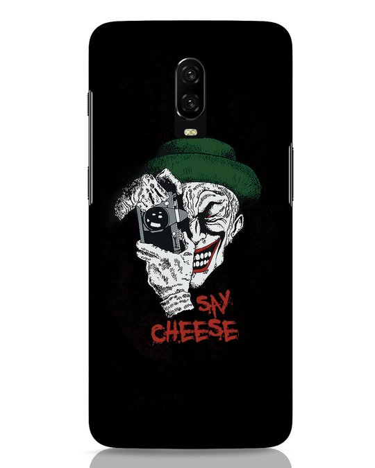 Shop Say Cheese OnePlus 6T Mobile Cover-Front