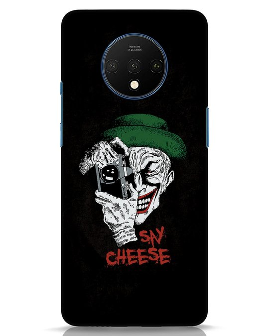 Shop Say Cheese OnePlus 7T Mobile Cover-Front