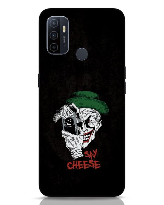 Shop Say Cheese Oppo A53 Mobile Cover-Front