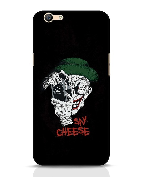 Shop Say Cheese Oppo F1s Mobile Cover-Front