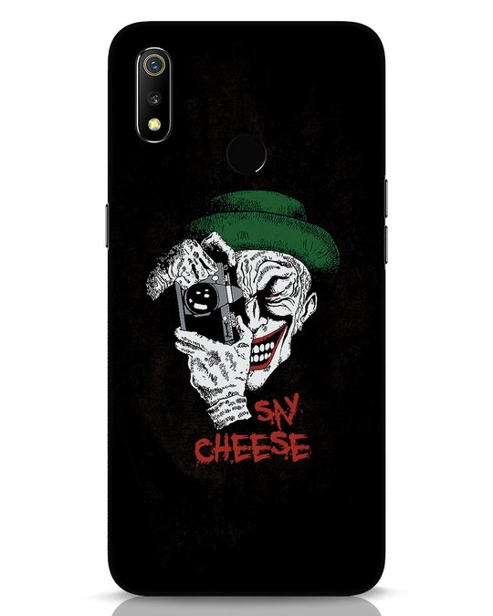 Shop Say Cheese Realme 3 Mobile Cover-Front