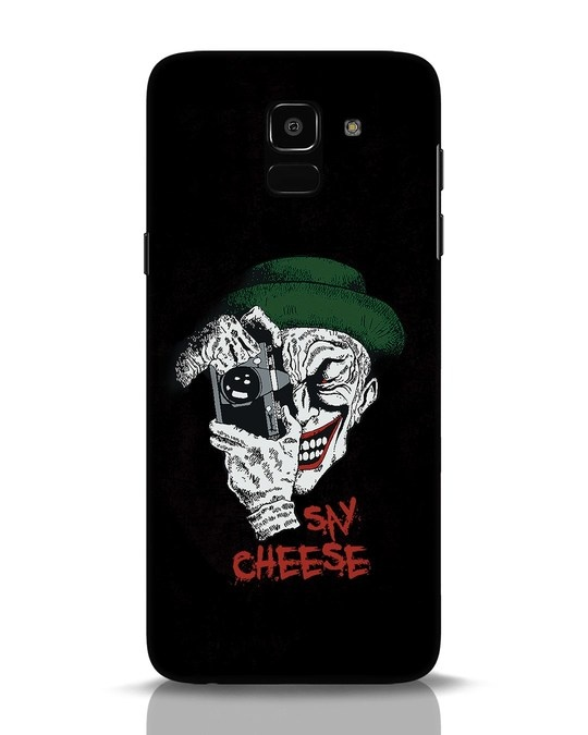 Shop Say Cheese Samsung Galaxy J6 Mobile Cover-Front