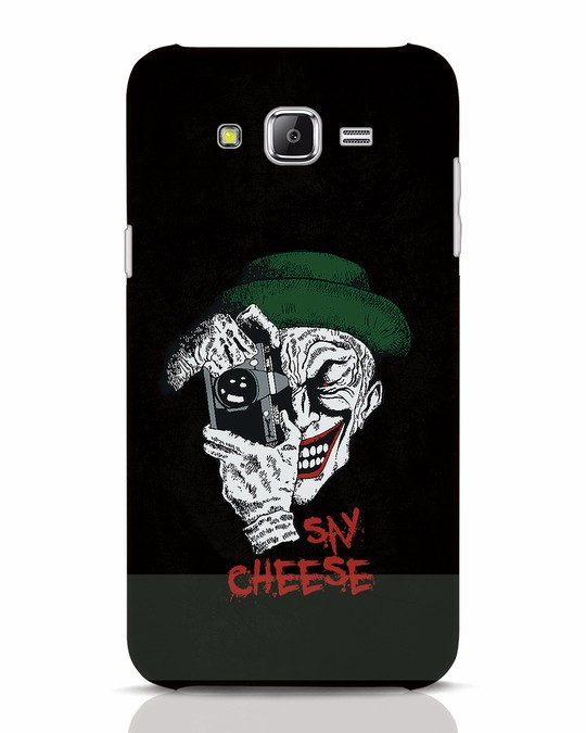 Shop Say Cheese Samsung Galaxy J7 Mobile Cover-Front