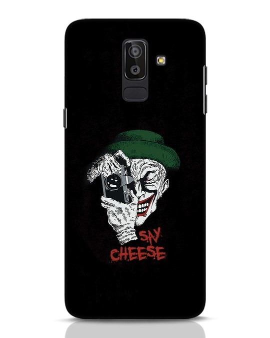 Shop Say Cheese Samsung Galaxy J8 Mobile Cover-Front