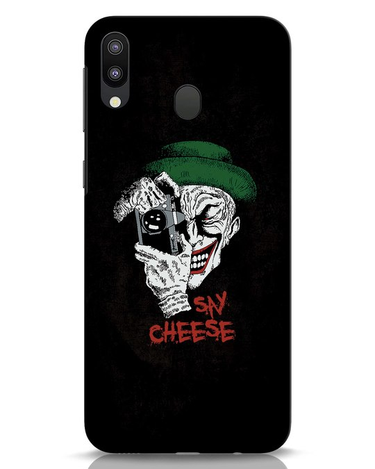 Shop Say Cheese Samsung Galaxy M20 Mobile Cover-Front
