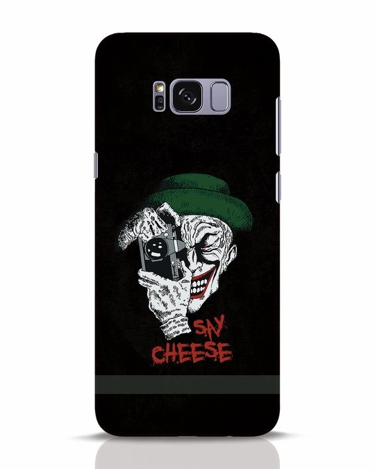 Shop Say Cheese Samsung Galaxy S8 Plus Mobile Cover-Front
