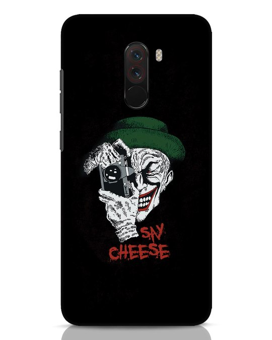 Shop Say Cheese Xiaomi POCO F1 Mobile Cover-Front
