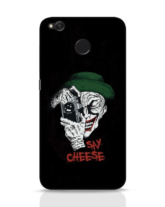 Shop Say Cheese Xiaomi Redmi 4 Mobile Cover-Front