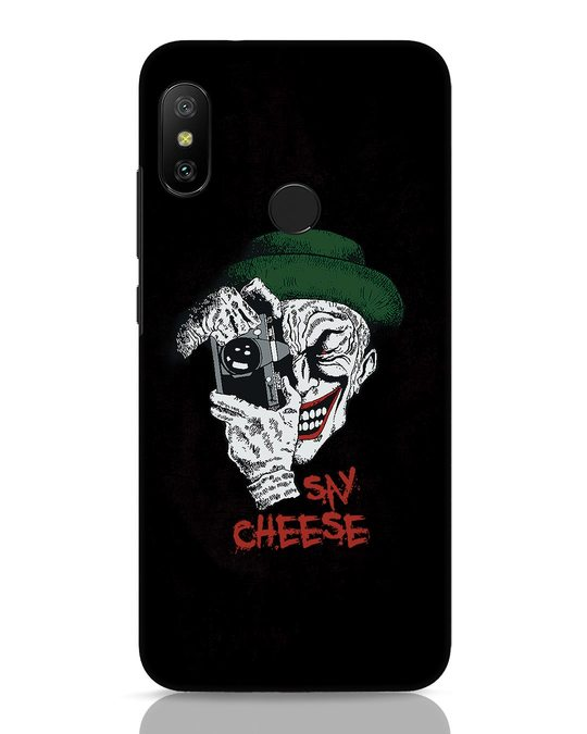 Shop Say Cheese Xiaomi Redmi 6 Pro Mobile Cover-Front