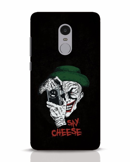 Shop Say Cheese Xiaomi Redmi Note 4 Mobile Cover-Front