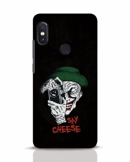 Shop Say Cheese Xiaomi Redmi Note 5 Pro Mobile Cover-Front