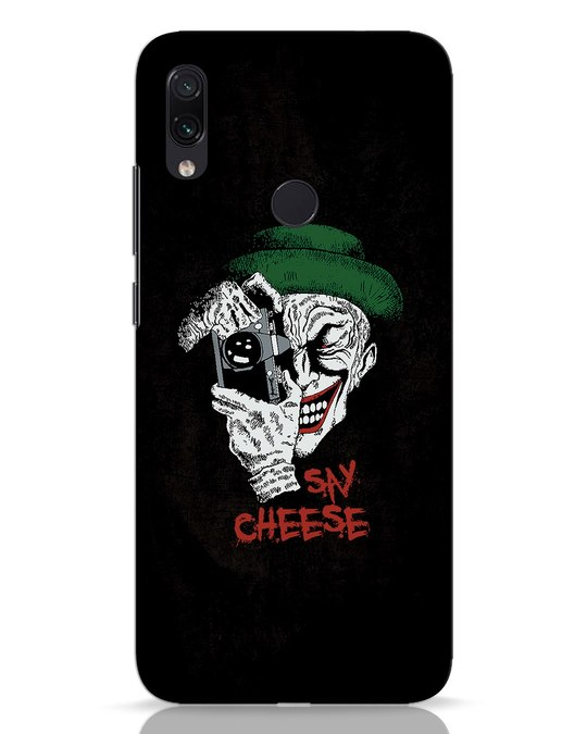 Shop Say Cheese Xiaomi Redmi Note 7 Mobile Cover-Front
