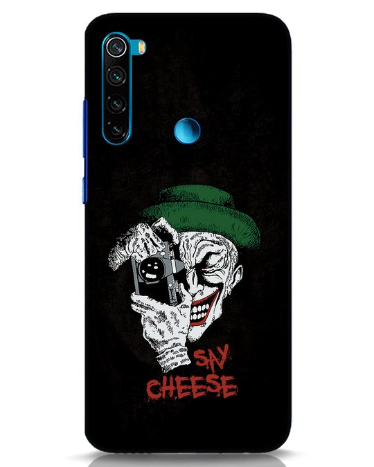 Shop Say Cheese Xiaomi Redmi Note 8 Mobile Cover-Front