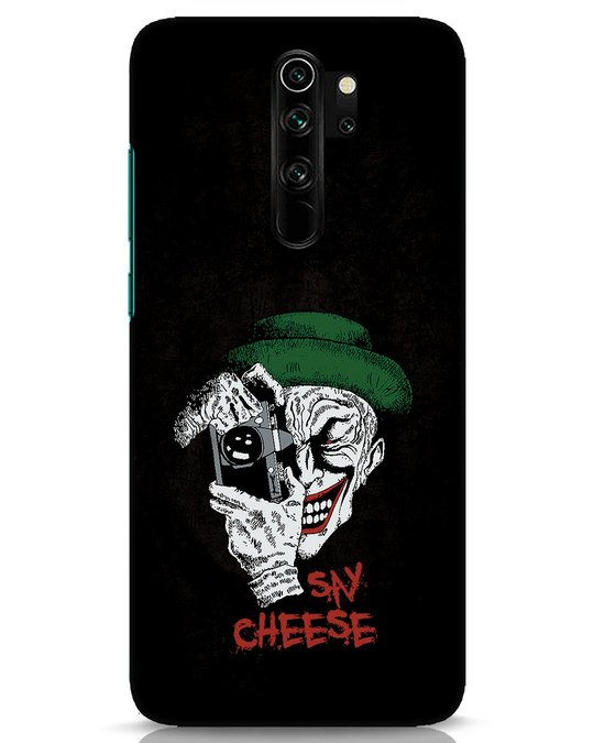 Shop Say Cheese Xiaomi Redmi Note 8 Pro Mobile Cover-Front