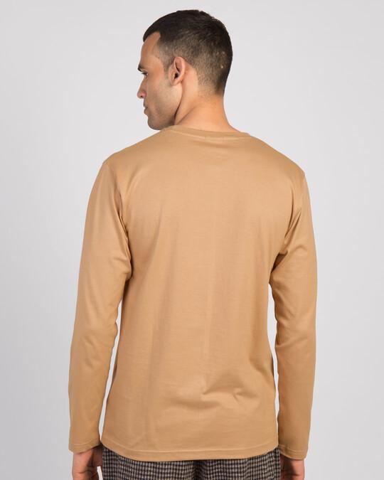 Shop Say No To Hugs Cactus Full Sleeve T-Shirt-Back