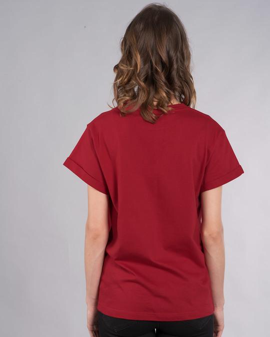 Shop Scared Jerry Boyfriend T-Shirt (TJL)-Back