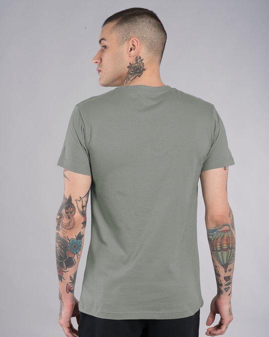 Shop Scared Jerry Half Sleeve T-Shirt (TJL)-Design